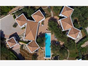 Lägenhet Margari Villas Krk - ön Krk, Storlek 170,00 m2, Privat boende med pool, Luftavståndet till centrum 100 m