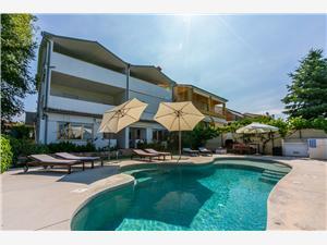 Апартаменты Pool голубые Истрия, квадратура 40,00 m2, размещение с бассейном