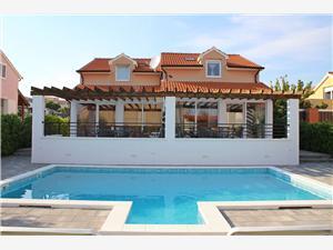Appartements Luka i Toni Vodice, Superficie 95,00 m2, Hébergement avec piscine